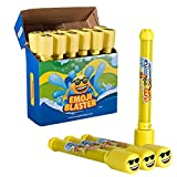 12 Pack Emoji Blaster Water Guns-Bulk Pack Water Shooters for Summer Party Favor or Activity Fun Gun...