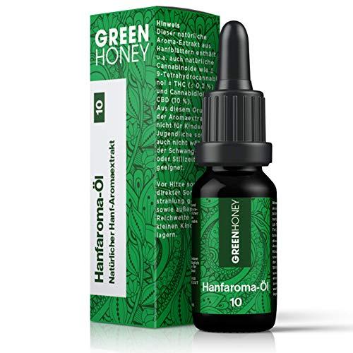 GREENHONEY® HANFAROMA Öl 10% - MADE IN...