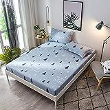 huyiming Verwendet für Einzelteil 1.2/1.5/1.8m Bettdecke Bett Rock Matratzenbezug Simmons Anti-Rutsch-Bezug 180x200cm