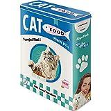 Nostalgic-Art Retro Vorratsdose XL Cat Food – Idea de Regalo para propietarios de Gatos, Cartón, 4 l
