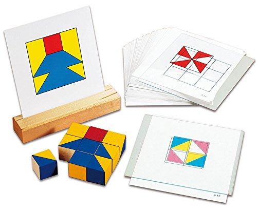 Logo Lern-Spiel-Verlag Nikitin-Material - 60 Raster-Vorlagen für Musterwürfel - Mathematik-Lehrmittel