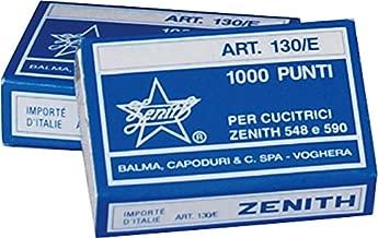 Zenith 130101/Cucitrice a pinza 590/Fun in metallo