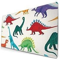 恐竜 マウスパッド ノンスリップ 防水 高級感 習慣 パターン印刷 ゲーミング ホビー 事務 おしゃれ 学習 40x75cm