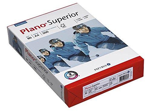 Plano Kopierpapier Superior A4 80 g/qm 500 Blatt