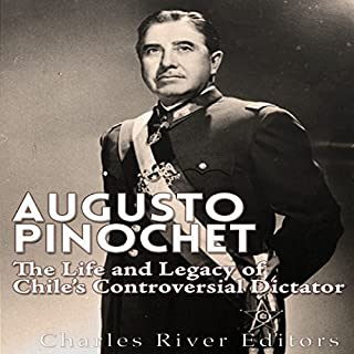 Augusto Pinochet audiobook cover art