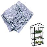 Copertura di ricambio in PVC per serra, accessorio di ricambio (solo copertura, senza mensola e vasi)