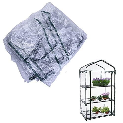 Copertura di ricambio in PVC per serra, accessorio di ricambio (solo copertura, senza mensola e...