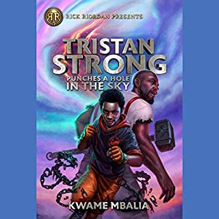 Tristan Strong Punches a Hole in the Sky audiobook cover art