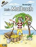 Der kleine Pirat: Mein Malbuch mit Stickern