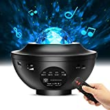 Night Light Projector, goldflower 3 in 1 Star Projector Galaxy Projector with LED Nebula Cloud for Baby Kids Bedroom/Home Theatre/Game Rooms/Party/Night Light Ambiance, Built-in Bluetooth Speaker