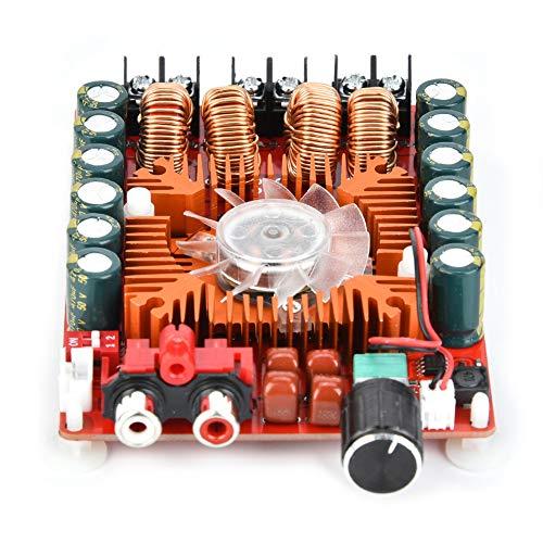 Changor Determinado amplificador de potencia de audio, altavoces de doble unidad estéreo 2 x 160 W módulo de placa amplificador hecho de plástico