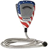 Astatic 302-10309 Stars N' Stripes Noise Canceling 4-Pin CB Microphone