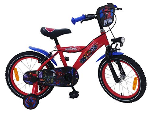 Spiderman - fiets 16 inch