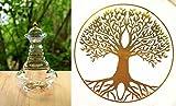 Natures-Design Karaffe Alladin mit Lebensbaum in Gold 1.3 Liter