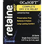 Ocusoft Retaine MGD Ophthalmic Emulsion, Milky White Solution, 30 count Single Use Containers, 0.01 Fluid Ounce 3 Retained mgd is a revolutionary preservative-free ophthalmic emulsion that moisturizes, lubricates and protects moderate to severe dry eyes Provides long-lasting relief utilizing nova orb, Proprietary cationic oil emulsion technology that effectively delivers ingredients through electrostatic attraction between positively charged droplets and the negatively charged ocular surface