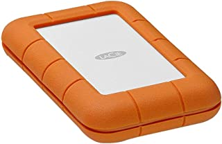 LaCie STFS2000800 2 TB Rugged Thunderbolt + USB-C Portable 2.5 Inch Shock External Hard Drive for PC and Mac
