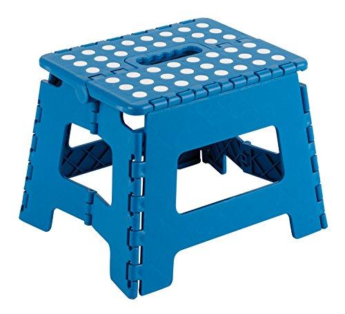 Arregui TB-021-A Plegable Infantil, Taburete para niños, 21 cm de Altura, Azul, 21 x 25 x 20 cm