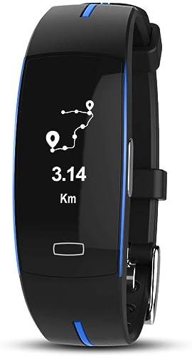 ZXMZNSH Smart Bracelet Activité Tracker Podomètre Bracelet Intelligent électrode Photoélectrique ECG Pression Artérielle Mesure De Fréquence Cardiaque Ip67 étanche