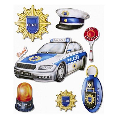 3D XXL sticker politie