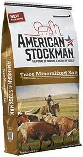 North American Salt Salt 41004 Trace Mineral Bag Silver Salt Pet Supplement, 50-Pound