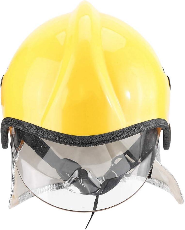 Casco De Seguridad, Casco De Bombero Protección Radiológica Gran Rendimiento De Aislamiento Anticorrosión Buena Transmisión Para Proteger