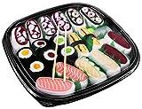 Rainbow Socks - Donna Uomo Calzini Sushi Mix Nigiri e Maki - 10 Paia - Taglia 41-46