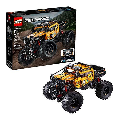 LEGO 42099 Technic Control+ 4x4 Allrad Xtreme-Geländewagen, App-gesteuertes Konstruktionsspielzeug mit Smarthub und interaktiven Motoren