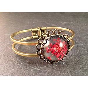 Amreif Bronze Blüte Rot