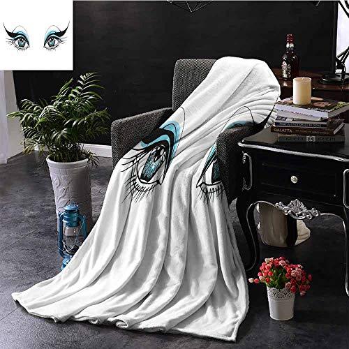 bontdeken Agressieve Gaze of a Bird of Prey Cartoon Mascotte Hunter Falcon Eagle Hawk Binnen/buiten, Comfortabel voor alle seizoenen