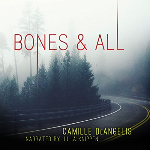 Bones & All     A Novel              By:                                                                                                                                 Camille DeAngelis                               Narrated by:                                                                                                                                 Julia Knippen                      Length: 9 hrs and 5 mins     2 ratings     Overall 3.0