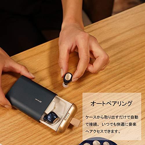 AVIOTアビオット日本のオーディオメーカーTE-D01bBluetoothイヤホン最新QCC3026チップ搭載無線完全ワイヤレスiPhoneAndroid対応(ブラック)