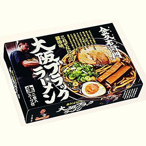 ご当地名店ラーメンミニ 大阪ブラックラーメン 金久右衛門 小 10箱×3合 SP-99