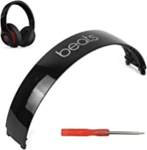 Beats Studio 2 Headband Replacement Repair Kit Replacement Parts Compatible with Beats Studio 2.0 Wired Wireless Over Ear Headphones with Screwdriver (Gloss Black)