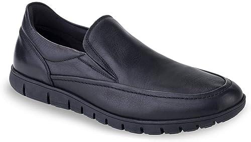 T2in T2in Chaussure Cuir Noir Homme R73  achats de mode en ligne