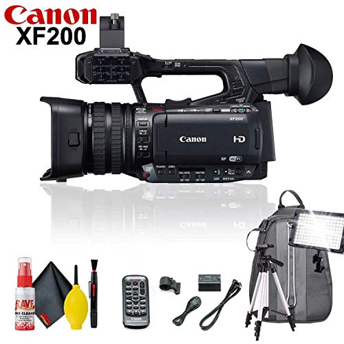 Check Out This Canon XF200 HD Camcorder Standard Accessory Kit