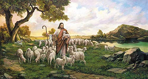 Chamberart 1000Piece Premium Jigsaw Puzzles 'Shepherd Jesus Christ 2' A-1075 by Yohan Lee