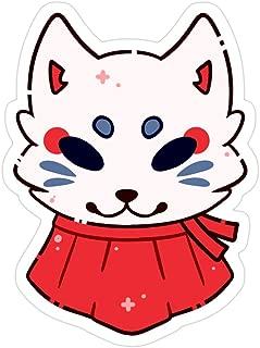 Hik kal Shop Shrine Fox Stickers (3 Pcs/Pack)