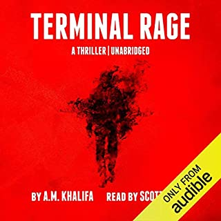Terminal Rage audiobook cover art