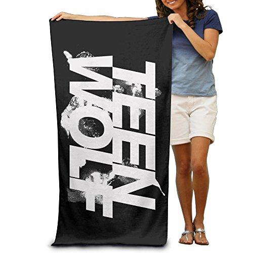 Master Teen Wolf Comedia Horror toalla de playa para adultos/31.5* 51.2