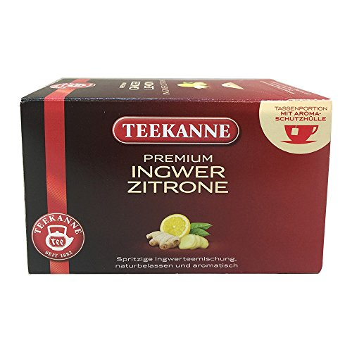 TEEKANNE Tee Ingwer Zitrone 44048 VE20