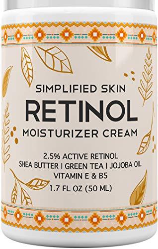 Retinol for Face & Eye with Vitamin E Night Moisturizer Cream