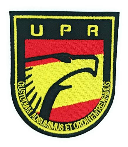 Gemelolandia Parche Termoadhesivo Policia Unidad de Prevención y Reacción UPR 9cm
