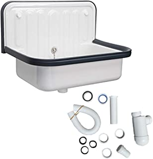 Alape Bucket Sink and Drain Bundle (Alape and Drain)