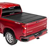 Undercover Ultra Flex Hard Folding Truck Bed Tonneau Cover | UX12018 | Fits 14-18, 19 Ltd/Legacy Chevrolet Silverado/GMC Sierra Legacy/Limited (Only 1500,2500,3500) 5'8' Bed