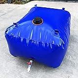 MJHETCY Tanque De Almacenamiento De Agua Subterránea De PVC Plegable Portátil Al Aire Libre, Jarra Espesada De Granja, para Construcción/Jardinería(Size:1000L)