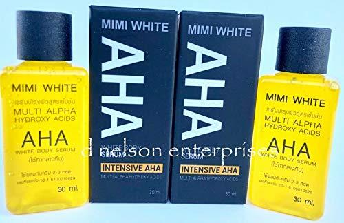 Mimi White AHA Body Serum, 2 Bottles x 30ml