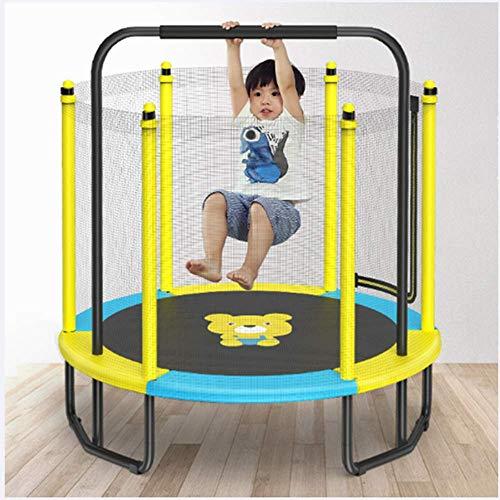 5FT Trampoline Jumper Indoor en Outdoor Fitness Oefening voor kinderen/volwassenen, uitgerust met Horizontaal Bar makkelijk te spelen, Stronger Sucker Lower Noise, Fun Toys
