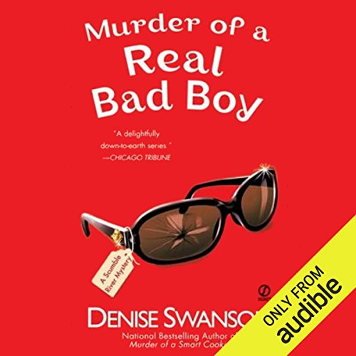 Murder of a Real Bad Boy audiobook cover art