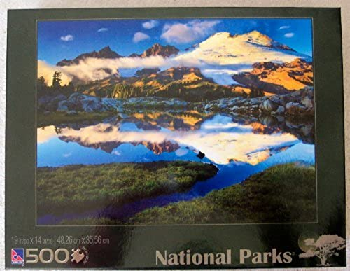 Sure Lox; National Parks Mount Baker Washington 500 Piece Jigsaw Puzzle by Sure-Lox