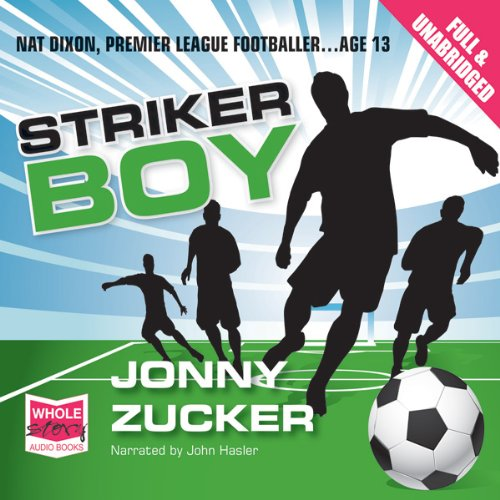 Striker Boy audiobook cover art